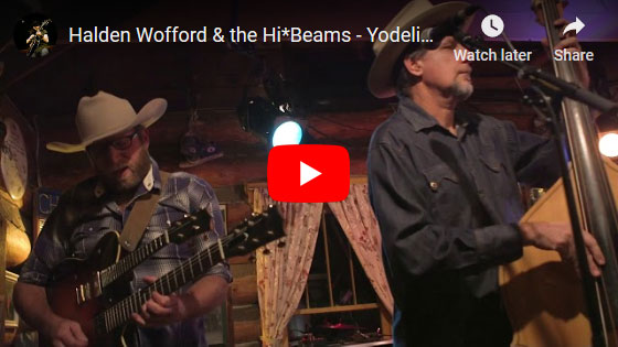 Halden Wofford - Yodelin' Rhythm & Blues Video
