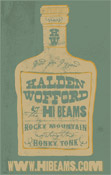 Hi*Beams Whiskey Bottle Poster